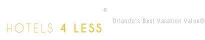 Orlando Hotels 4 Less Logo